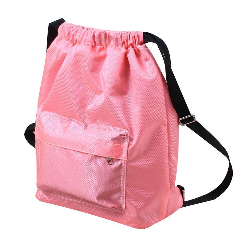 2019 New Swimming Drawstring Beach Sport Dry Wet Separation Backpack Travel School Bag