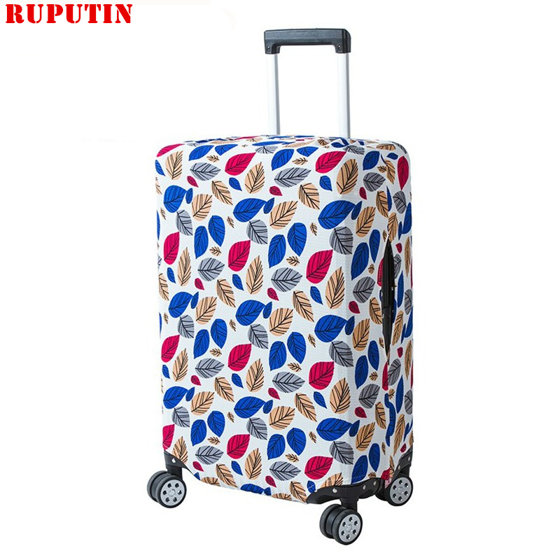 RUPUTIN New Fashion Suitcase Dust Cover High Quality Elastic Protection Sleeve For 18-28 Inch Dustproof Trolley Protective Cover