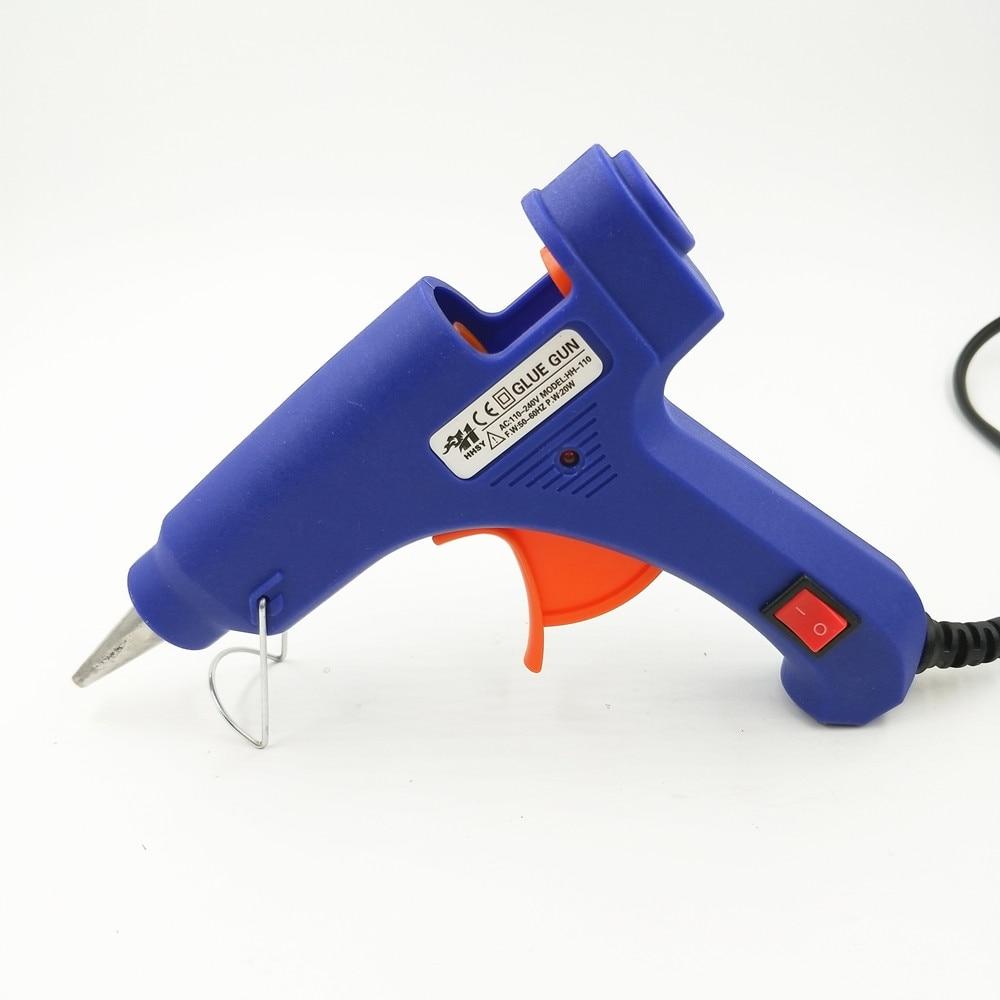 100–240 V kuumsulamliimipüstol 20W EU Plus koos 7 mm pulgadega - Elektrilised tööriistad - Foto 3
