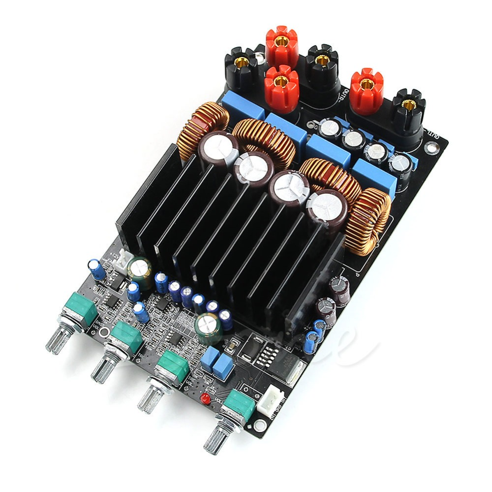 OPA1632DR TL072 TAS5630 2.1 300 W + 150 W + 150 W 470 UF/100 V Classe D Numérique Amplifie