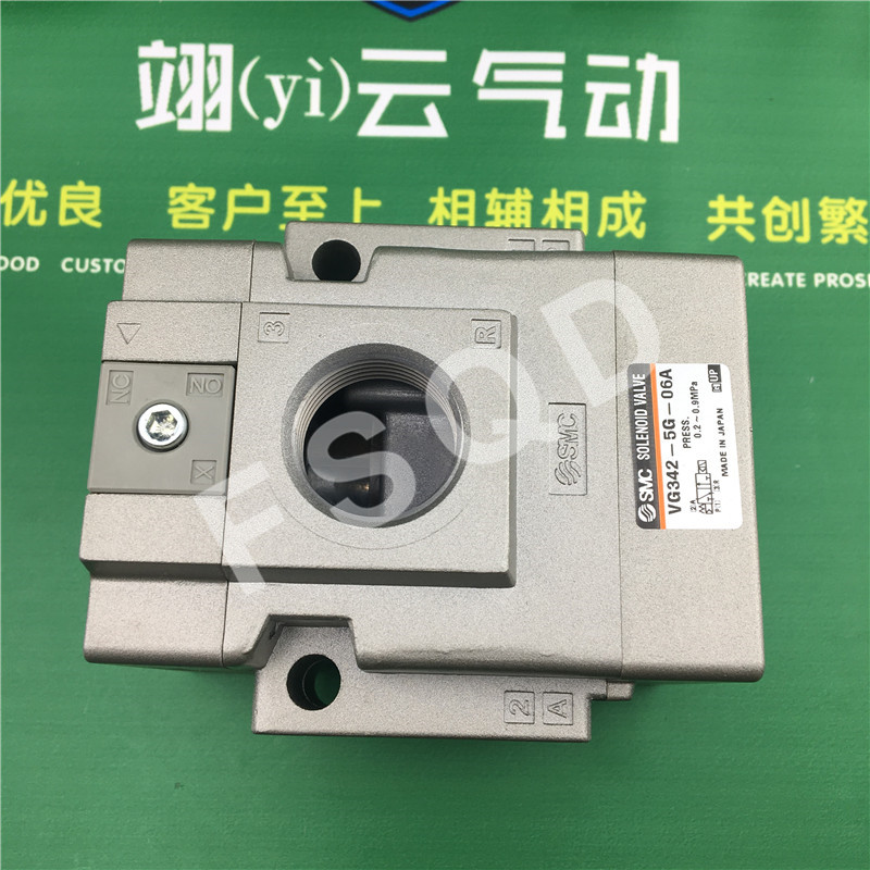 VG342-5G-06A VG342-4G-06A VG342-4G-10A SMC solenoid valve electromagnetic valve pneumatic component VG342 series dsei12 06a page 2