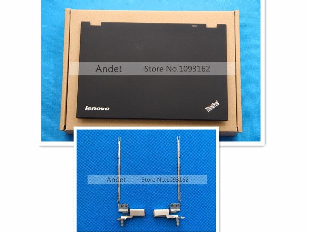 Lenovo ThinkPad T430 T430I Top Tampa LCD Tampa Traseira com Dobradiças Set 04W6861 04W6863 04W6864