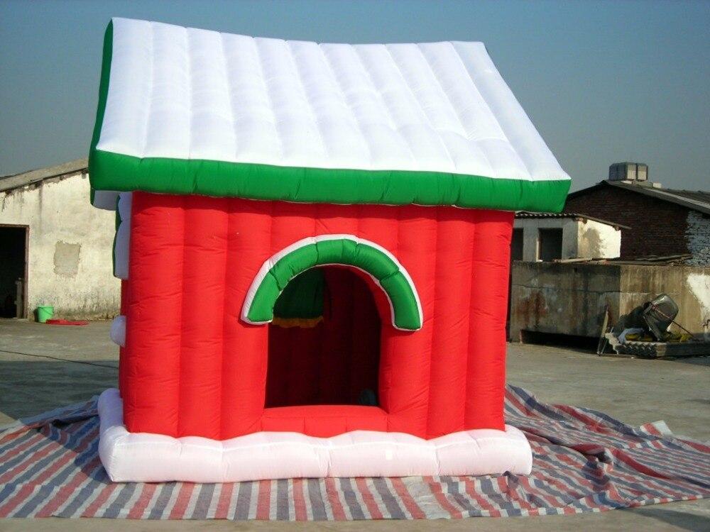 Casetta Di Natale Gonfiabile : Vendita della fabbrica casa di babbo natale gonfiabile per la