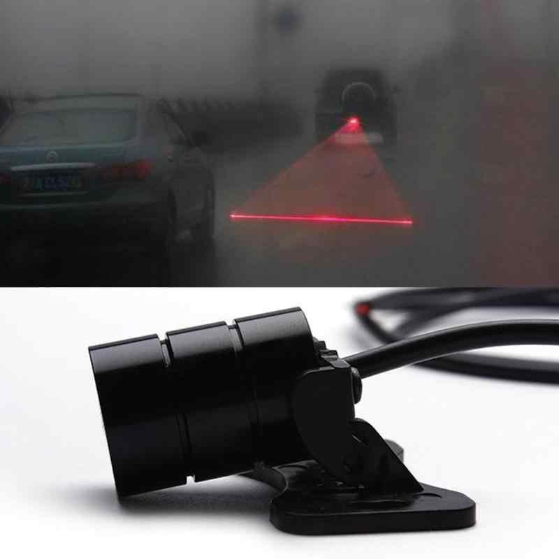 Nova venda anti colisão traseira-final do carro laser luz da cauda 12 v led luzes de nevoeiro do carro auto freio estacionamento lâmpadas de criação luz de advertência