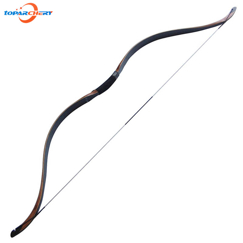 Handmade Traditional Chinese Recurve Wooden Bow 40lbs 45lbs 50lbs for Hunter Outdoor Hunting Target Shooting Laminated Longbow