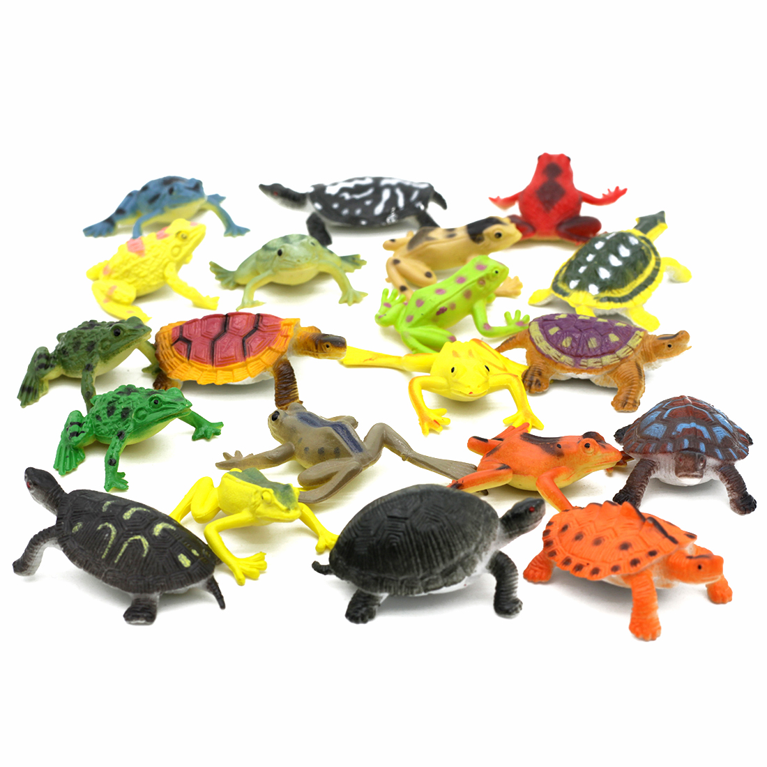 Toy Figures Action-Toy Animal-Model Frogs Dinosaur Turtles Plastic Interesting for Children