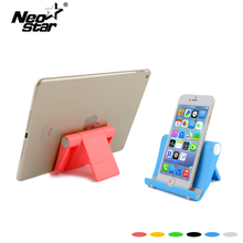 NEO STAR Universal Foldable Tablet Stand For Ipad For Mobile Phone Plastic Desk Stand Hot Selling Six Colors
