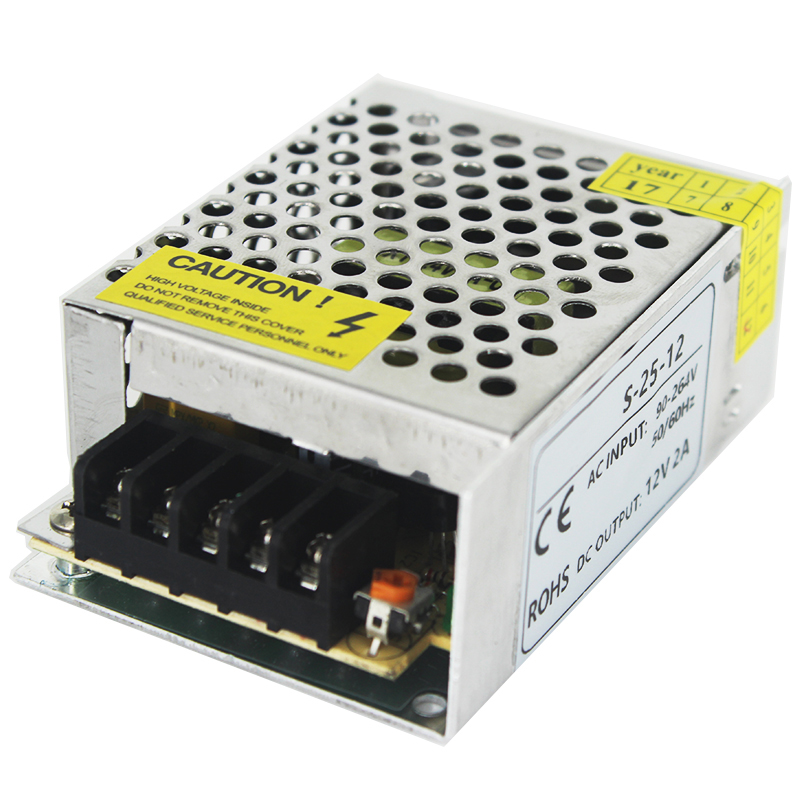 DC24V Power supply Schalt 1a 24 w LED Power <font><b>Adapter</b></font> Fahrer Transformator <font><b>100</b></font>-240 v <font><b>ac</b></font>-<font><b>dc</b></font> 24 v SMPS Für Led Licht Lampe CNC image