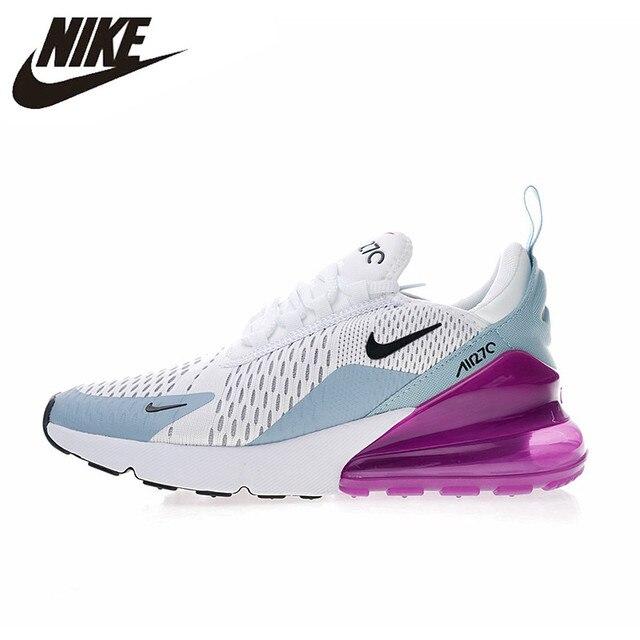 Оригинальный Nike Оригинальные кроссовки Air Max 270 женские Беговая Спортивная обувь Открытый Спортивная обувь удобные дышащие 2018 Новое поступление AH6789