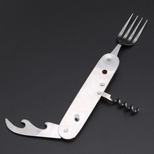 3 in 1 Folding Stainless Steel Multi Tool for Camping