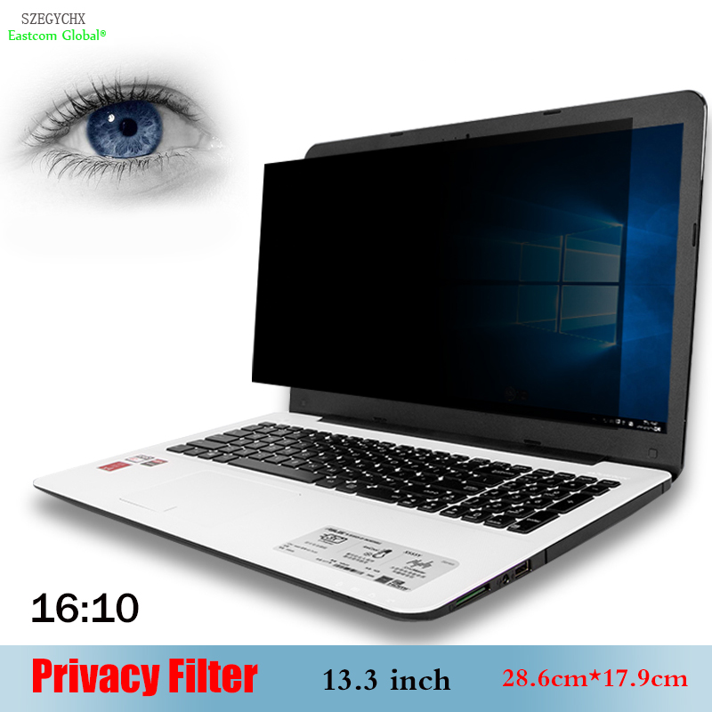 Szegychx Für Notebook 16:10 Laptop 28,6 Cm Flight Tracker 13,3 Zoll Privacy Filter Anti-glare Screen Schutzfolie 17,9 Cm Das Ganze System StäRken Und StäRken