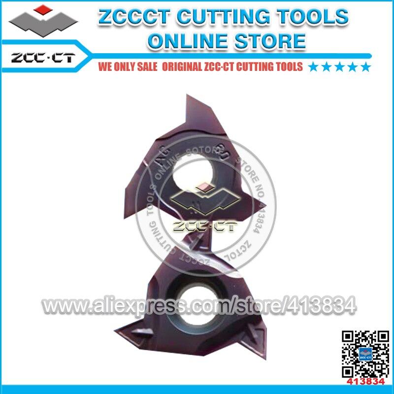10pcs ZCC turning tool RT16 01W AG60PB YBG205 ZCCCT cutting tool cnc turning plate threading inserts
