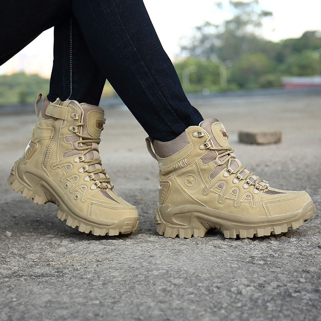 Professional Tactical Hiking Boots Waterproof 8