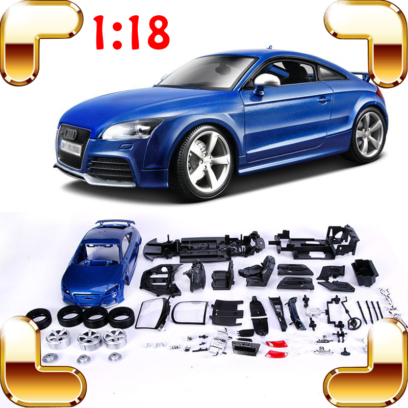 New Year Gift TTRS  1/18 DIY Handmade Model Metal Car Sports Vehicle Racer Collection Education Toys Assemble Game Big Cars Fans lucky john croco spoon big game mission 24гр 004