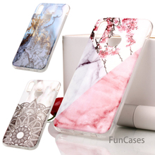Colorful Marble Phone Cover For Huawei P20 Pro P8 P10 P9 Lite