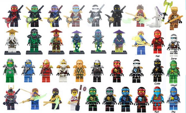 Ninja WU Kai Jay Cole Zane Lloyd Lord Nya Nada Khan Gnea With Tornado Motorcycle Weapon Bricks Building Blocks Toys for children 2018 hot ninjago building blocks toys compatible legoingly ninja master wu nya mini bricks figures for kids gifts free shipping