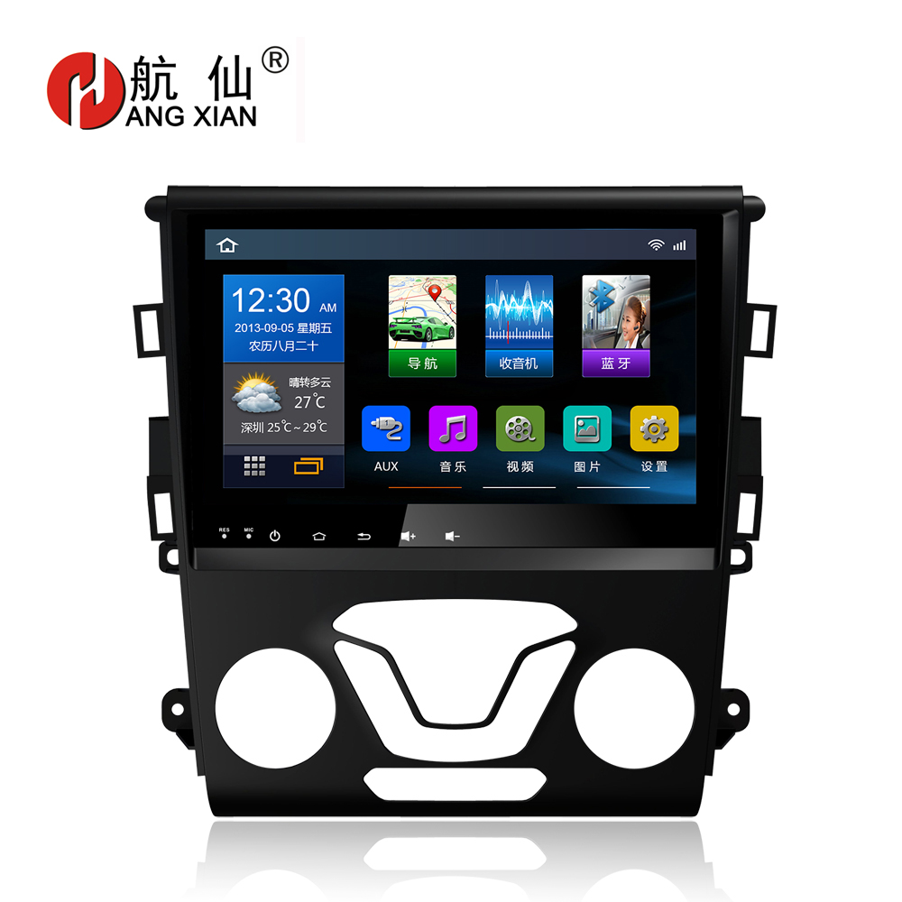 Bway 9 Car radio stereo for Ford Mondeo 2013 2014 2015 2016 Quadcore Android 6.0.1 car dvd GPS player with 1G RAM,16G iNand