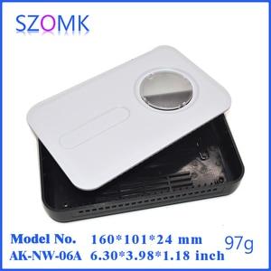 Image 1 - project case electronics enclosure box (4 pcs) 160*100*30mm enclosures szomk control box project box plastic instrument case