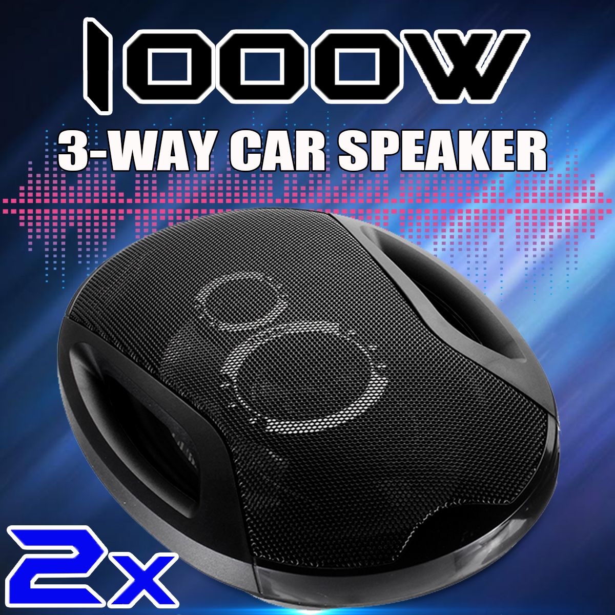 2pcs 12V 1000W 6x9 inch 3-Way Twin Tone Auto Car Door Shelf Coaxial Speakers High Frequency Hifi Car Audio Subwoofer Speaker2pcs 12V 1000W 6x9 inch 3-Way Twin Tone Auto Car Door Shelf Coaxial Speakers High Frequency Hifi Car Audio Subwoofer Speaker