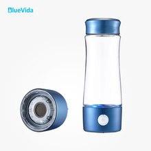 زجاجة مياه الهيدروجين من الجيل 2th H2 حتى 3300ppb تستخدم غشاء DUPONT N324 ، مع جهاز بسيط لامتصاص الهيدروجين