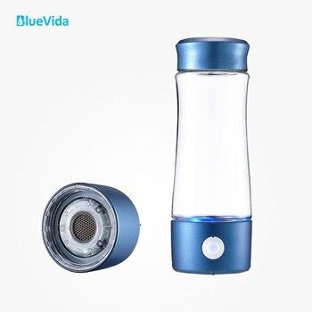 La 2ª generación H2 hasta 3300ppb AGUA DE Hidrógeno botella utiliza membrana DUPONT N324, con un dispositivo de absorción de hidrógeno simple