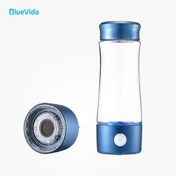 La 2th Generation H2 hasta 3300ppb botella de agua de hidrógeno utiliza la membrana DUPONT N324, con un simple dispositivo de absorción de hidrógeno