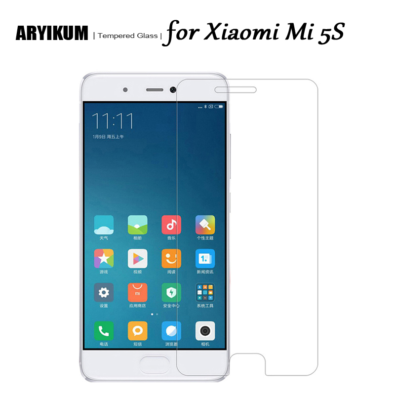 HD 9H 2.5D Tempered Glass for Xiaomi Mi 5S 32gb 64gb