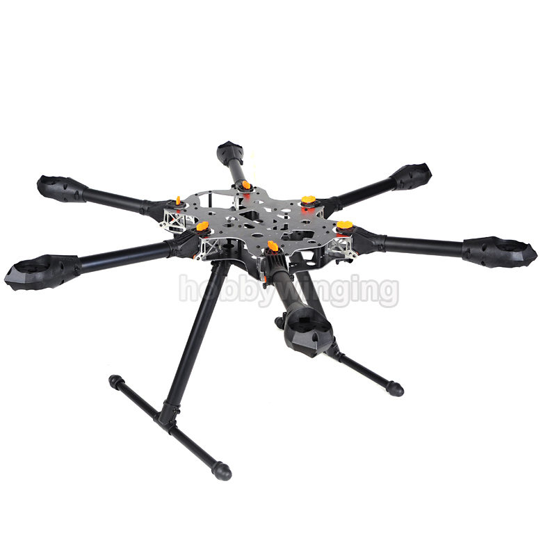 X CAM Kongcopter FH800 Faltbare KIT Serie Folding Hexacopter Rahmen ...