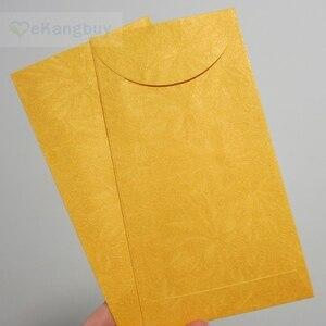 """Image 4 - 50pcs 172x90mm(3.7 """"x 3.5"""") 셀프 인감 빨간색 봉투 반짝이 선물 봉투"""