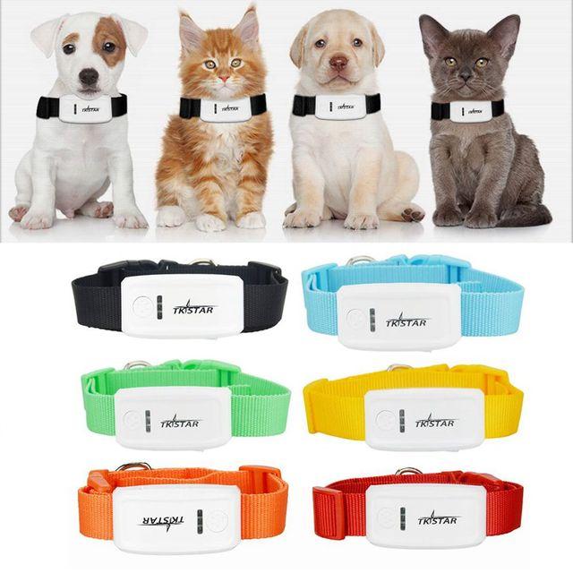 Pet Tracker Tk909 Supper Mini Gps With Collar For Cat Dog Locator Geo