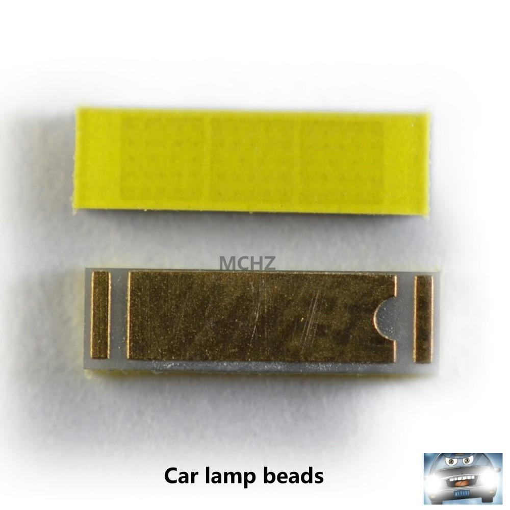 20PCS Warm White 5500K White 6000K LED SMD 1860 Chip 9V 1500MA 1500LM FOR Car Headlights H7 LED H4 H1 H3 H11 9005 HB4/9006