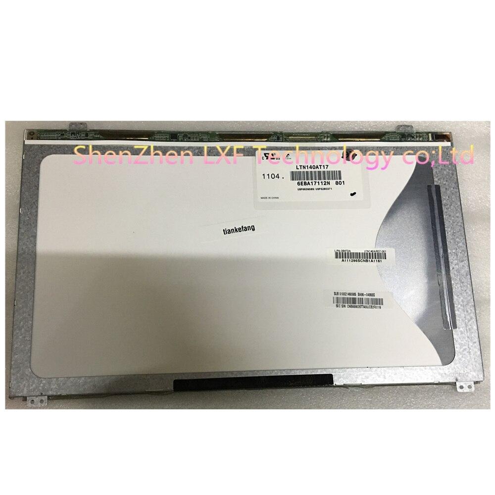 LTN140AT21 601 LTN140AT21-001 LTN140AT17 LTN140AT21-002 For Samsung 300e4a SF410 Q470 LCD Screen