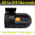 Mini Wide Angle HD 1080P Car DVR with DVD connectoer video and audio Recorder Dash Camera Video Register G-sensor