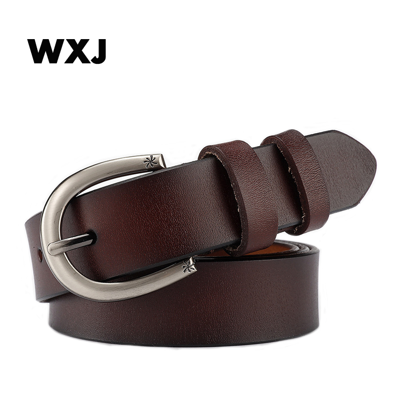 Leather Belts For Women luxury designer brand Belt female Buckle Ladies Belts Strap Students Belts for Women W028(China)