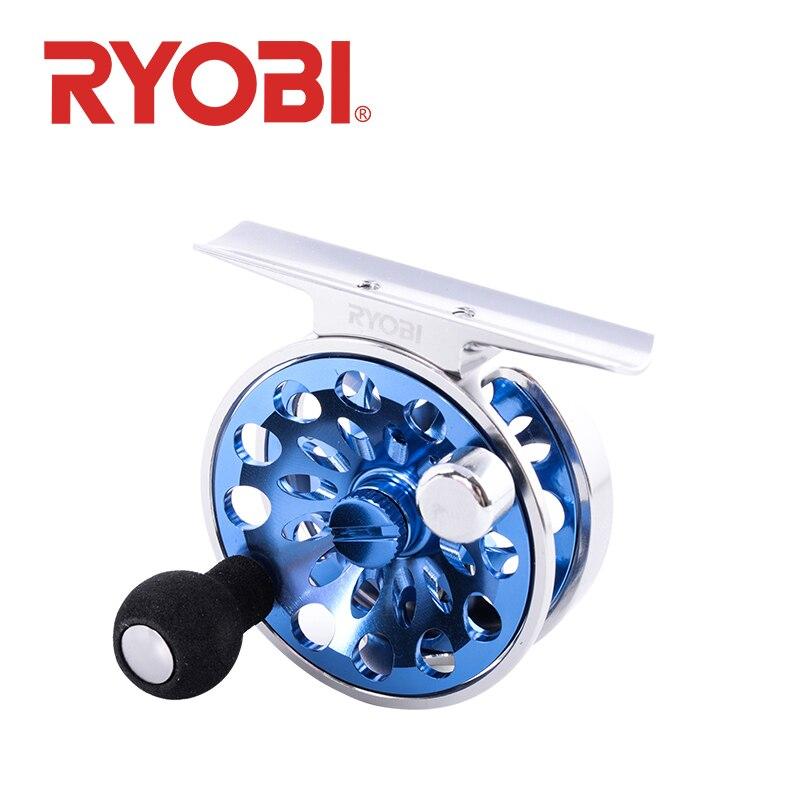 100% oryginalny RYOBI MINI fajne kołowrotki kołowrotek do lodu ultralekki na zimę sprzęt wędkarski narzędzia małe koła lodu kołowrotek w Kołowrotki od Sport i rozrywka na AliExpress - 11.11_Double 11Singles' Day 1