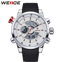 Weide men watches 2017 luxury brand steampunk role luxury watch men watch sport digital watches Original dropshipping discounts