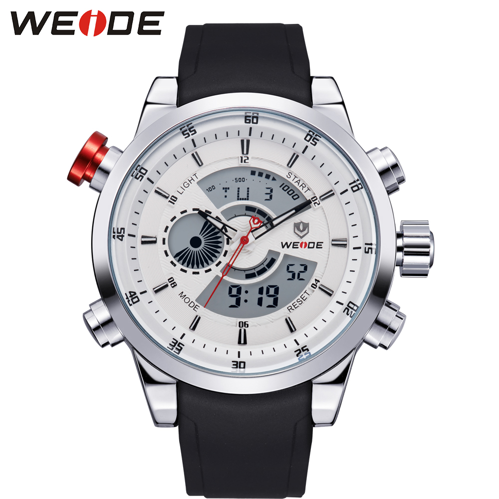 """Weide vyrai laikrodžiai 2017 prabangos prekės """"steampunk"""" vaidmuo prabangūs laikrodžiai vyrai žiūri sporto skaitmeninius laikrodžius Originalios dropshipping nuolaidos"""