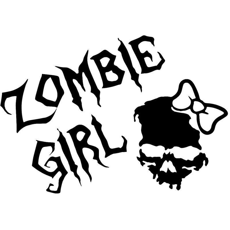 Popular Girl Skull DecalBuy Cheap Girl Skull Decal Lots From - Car sticker decals vinyl girl