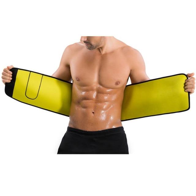 CHENYE Neoprene Man Shaper Male Waist Trainer Cincher Corset Men Body Modeling Belt Tummy Slimming Strap Fitness Sweat Shapewear 4