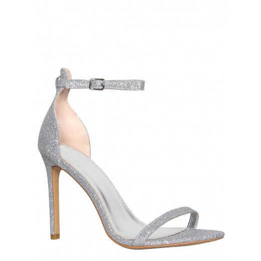 ФОТО Silver High Heel Sandals Sexy Club Shoes Custom Turquoise High Heels Sexy Shoes Summer Sandals Stilettos Ladies Shoes Size 43