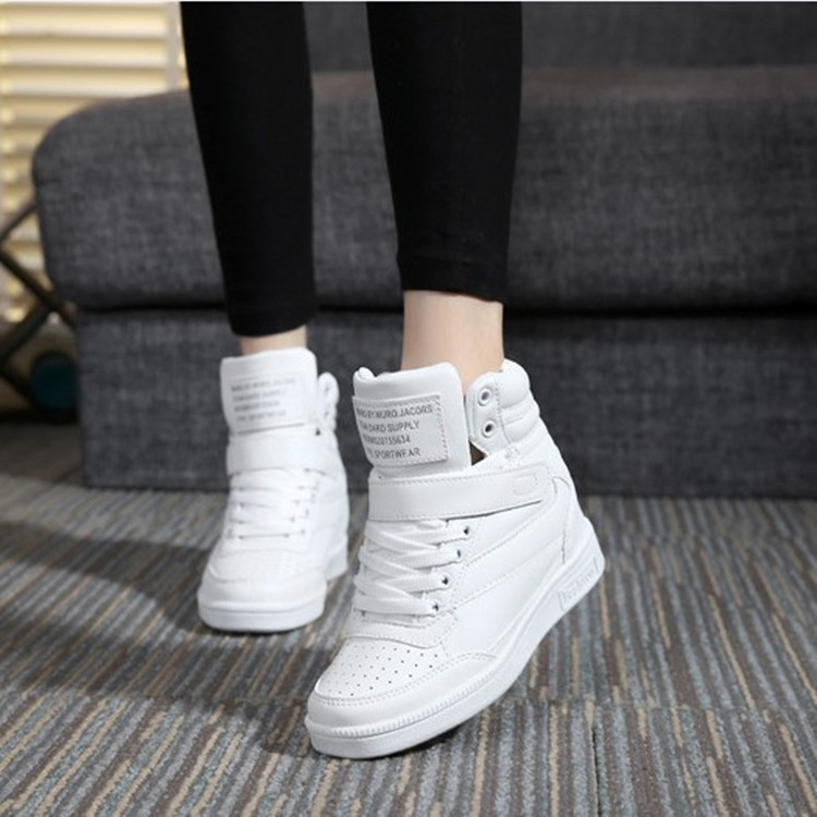 Female Shoes Platform-Sneakers Tenis Designer Wedges White Casual Woman New Feminino