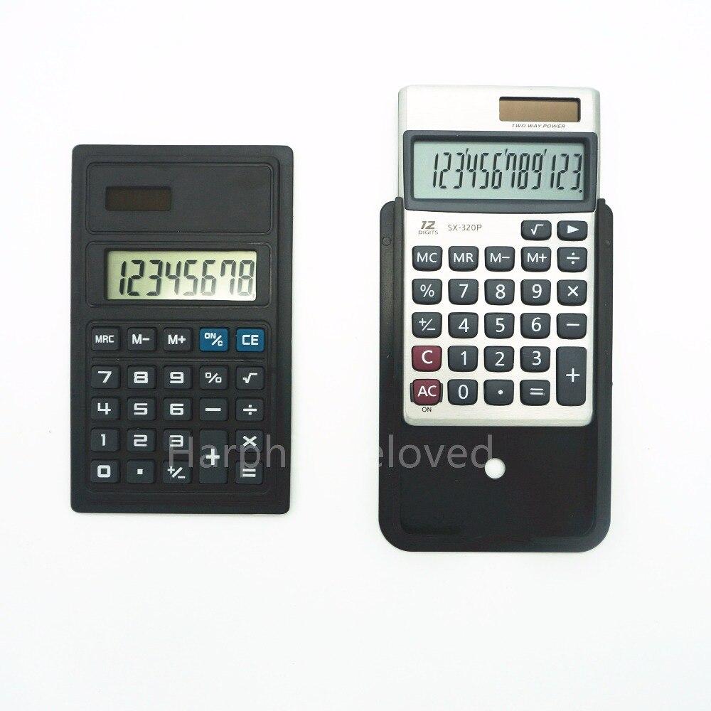 Mini Calculator 8 digits 12 digit avalaible A4 document file folder calculator Document bag accessory Handheld electronic