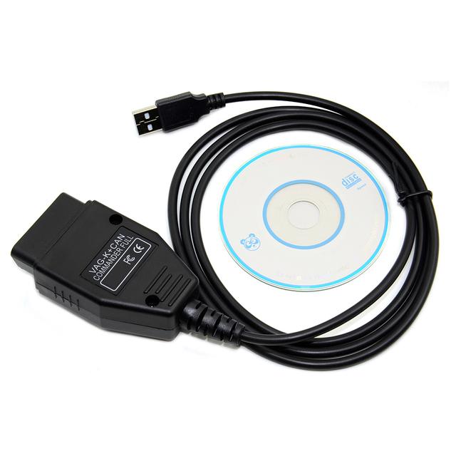 FOR VAG K+CAN Commander 1.4 obd2 Diagnostic Scanner tool FOR VAG 1.4 COM cable For vag scanner