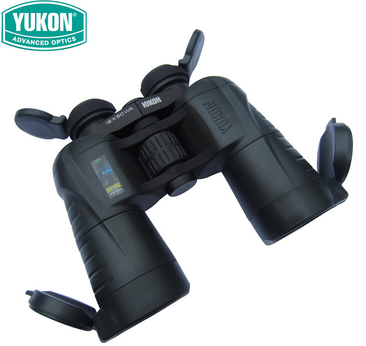 good quality Yukon 22023 Prism binocular 12x50WA outdoor telescope wide-angle Binocular 12X  magnification yukon woodworth 7х50 wa бинокль