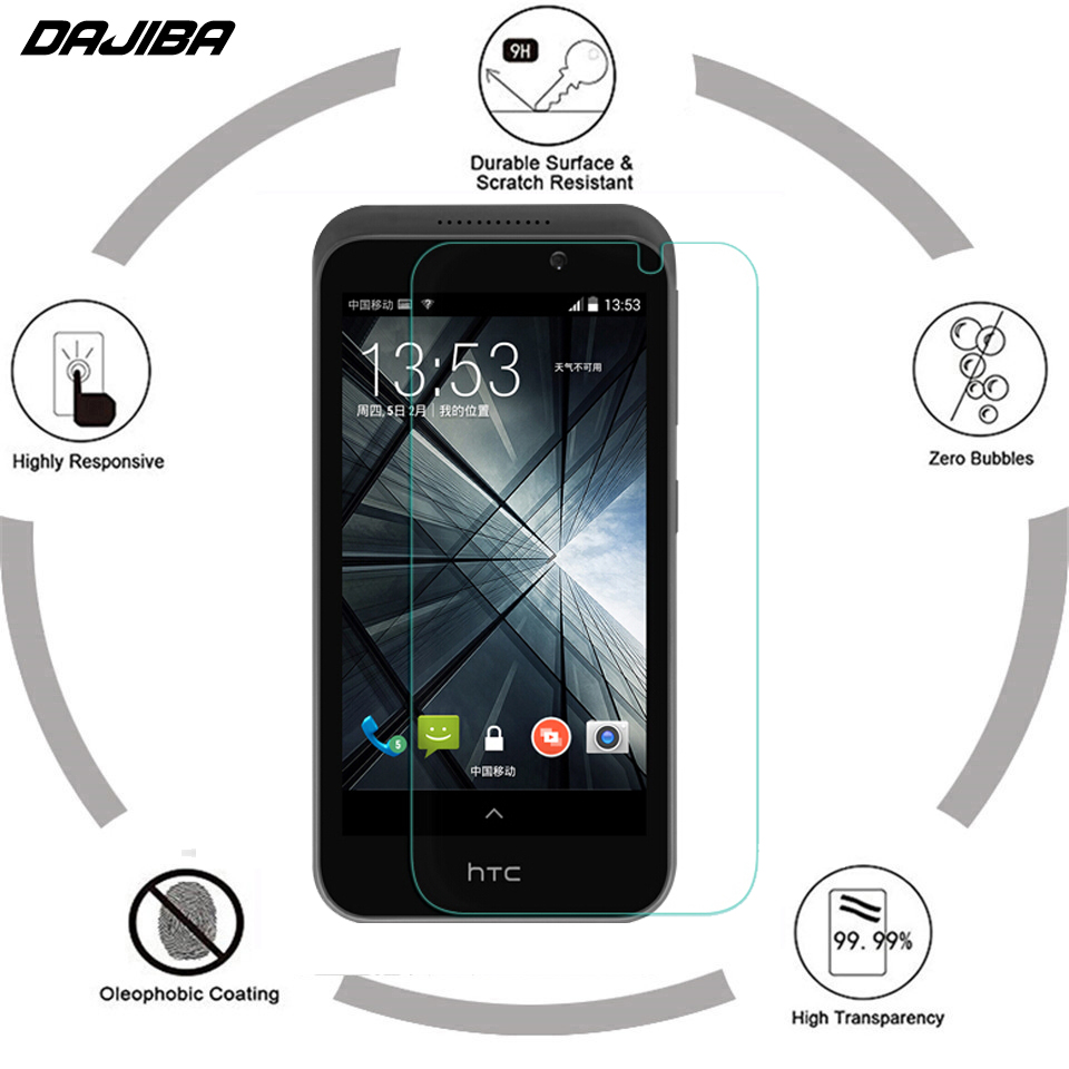 2.5D 9H Premium Tempered Film For HTC Desire 320 Ultra-thin Screen Protector For HTC Desire 320 D320e Toughened Protective Flim