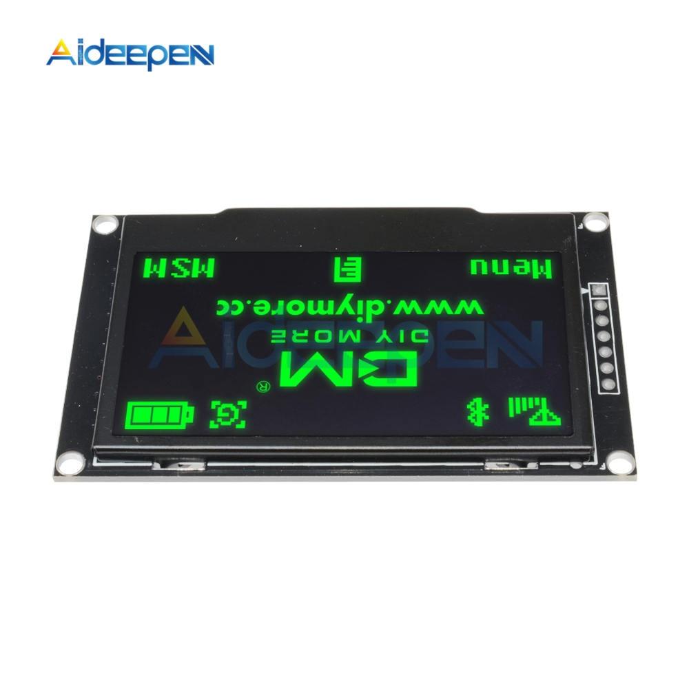 "Azul Pantalla OLED de 2.42/"" pulgadas SSD1309 128x64//puerto serie IIC SPI para Arduino C51"