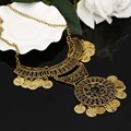2017 Promotion Coin Collar Jewelry Gypsy Ethnic Choker Colares Colar Bijoux Collier Femme Maxi Statement Necklaces For Wome