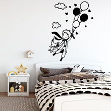 Plane Sticker little prince Art Waterproof Wall Stickers For kids Boys girls Decals Mural muursticker
