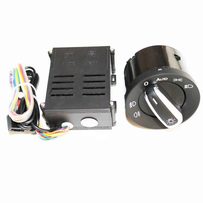 ELISHASTAR Auto Light Sensor With Headlight Switch Leaving Home Coming Home Function For  Polo Golf 4 Passat B5 5ND 941 431B ELISHASTAR Auto Light Sensor With Headlight Switch Leaving Home Coming Home Function For  Polo Golf 4 Passat B5 5ND 941 431B