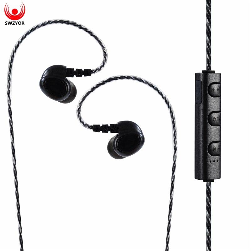 SWZYOR S450 Bluetooth Earphone Sport Running With Mic Earbud Wireless Earphones Bass Bluetooth Headset For iPhone